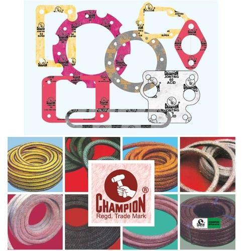 Authorized channel partner of Champion gaskets and jointing sheets
